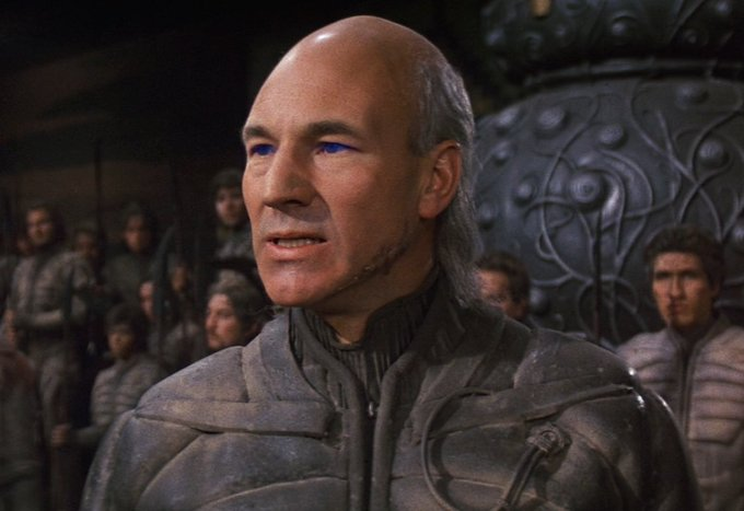 Happy birthday to Patrick Stewart!! Cigar and skullet? Make it so.