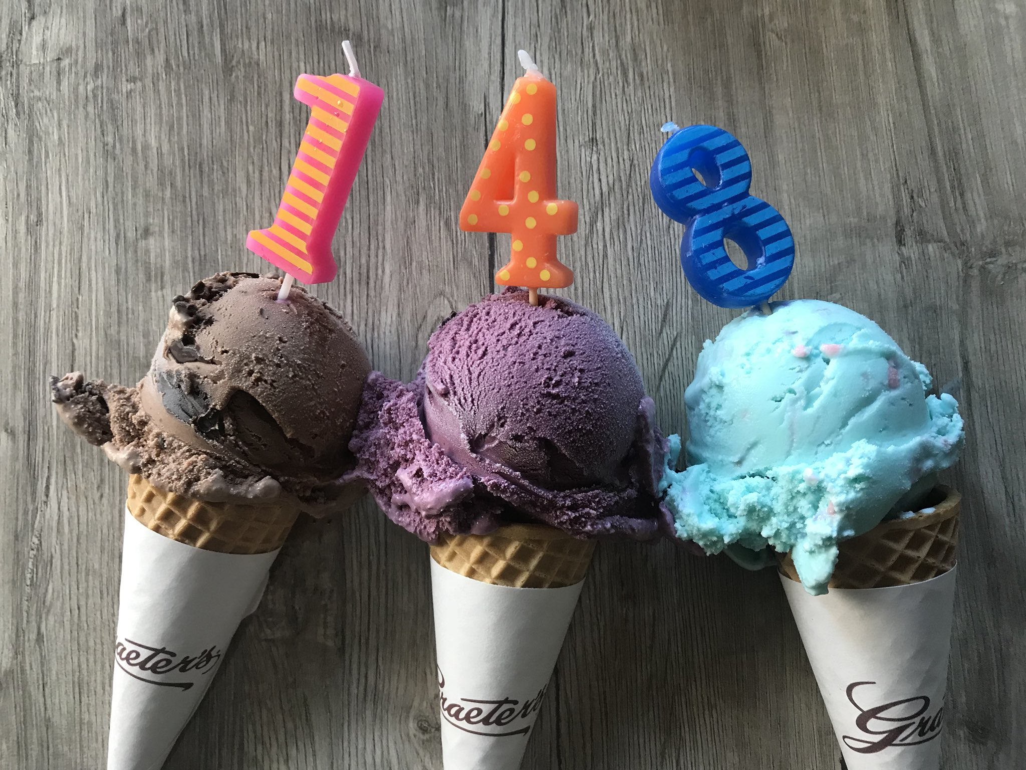 🎉🍦Our birthday weekend is here! We're celebrating 148 years of handcrafted ice cream on Sunday, July 15th. Stay tuned on our social channels for giveaways, store offers and more! https://t.co/1nfHgpO4OQ