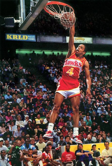 On this day, some years ago, a Slam Dunk Legend was born. Happy Birthday to our Prez of Ops, Spud Webb!!