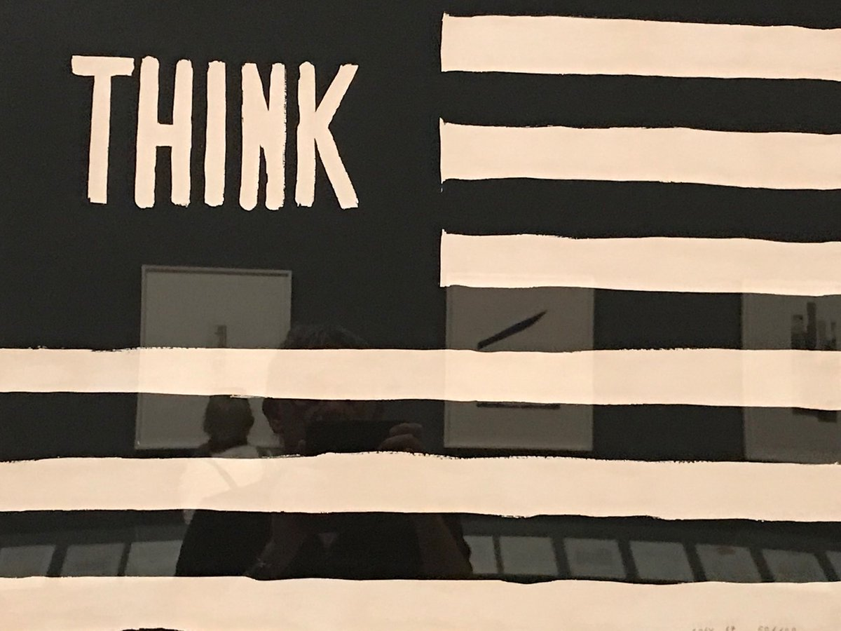 test Twitter Media - William C, Copley: 1967, Think/Flag, Whitney museum New York https://t.co/neGiapicdI