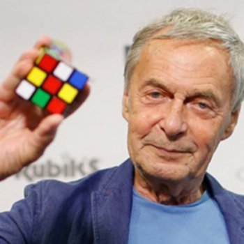 Happy Birthday to Erno Rubik, inventor of the Rubik\s Cube