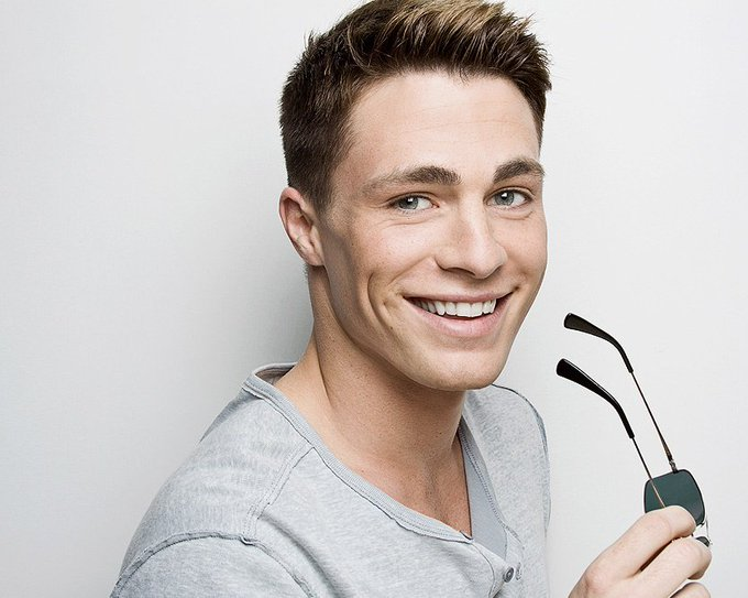 That\s my happy boy!  Happy birthday, Colton Haynes