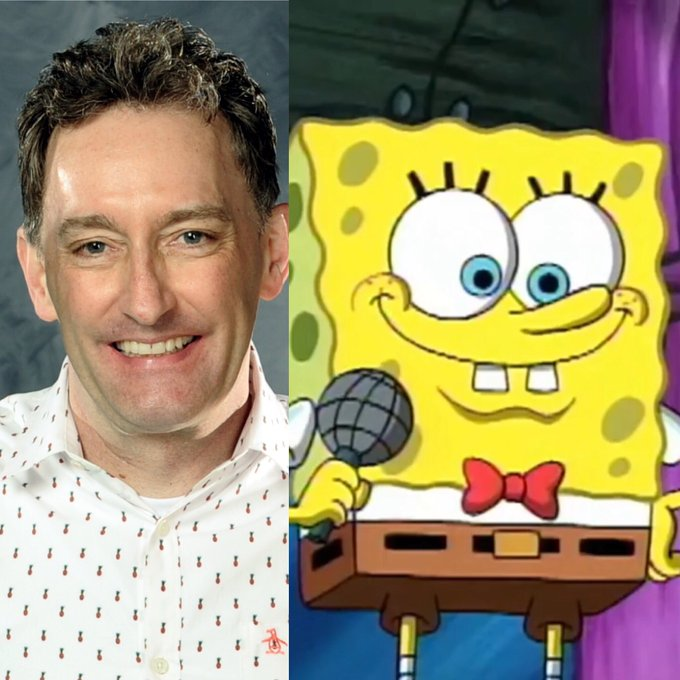 Happy birthday, Tom Kenny, the voice of SpongeBob SquarePants