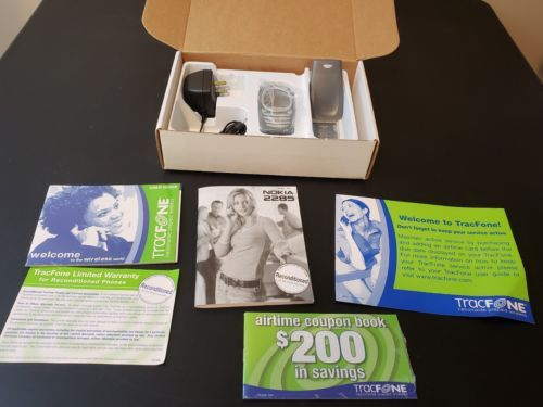 Vintage Nokia 2285 -Gray (TracFone) Phone Manufacture ReconditionedPrepaid...