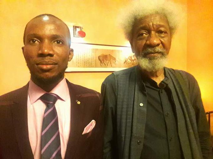 Happy birthday, Prof. Wole Soyinka. You remain a shining light in a nation with a dark conscience.