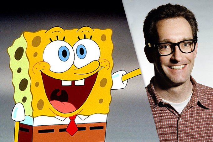 Happy Birthday to Tom Kenny, the voice of SpongeBob!