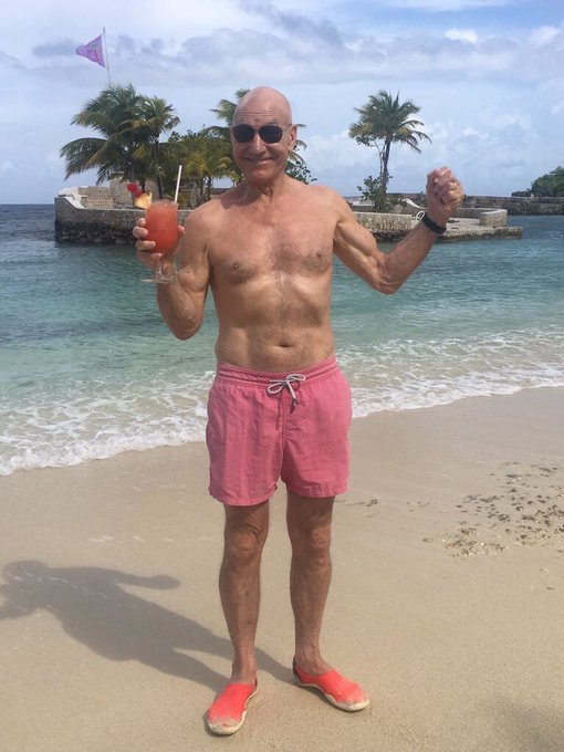 Happy 78th Birthday To Patrick Stewart via /