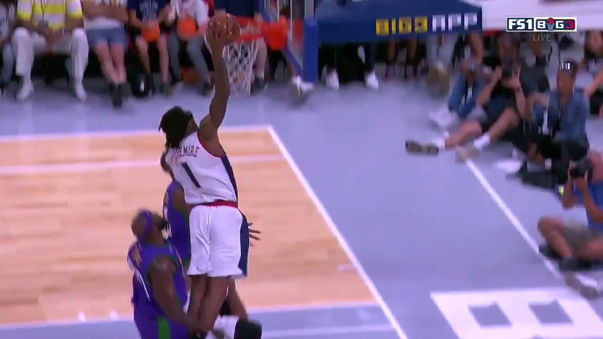 RT @sportingnews: Amar'e Stoudemire still has ABSOLUTELY NO CHILL.  ????: @thebig3, @FS1   https://t.co/GnQir604RP