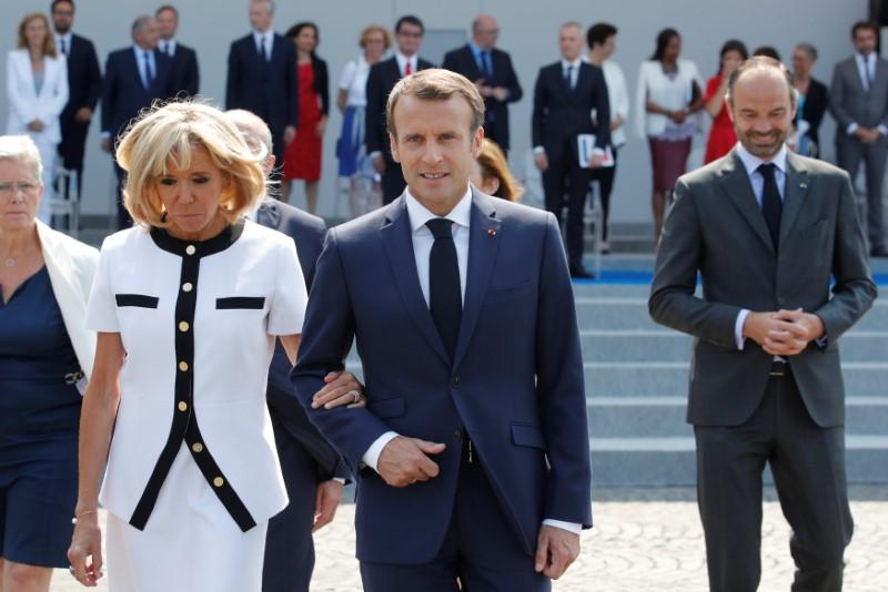 France's Macron marks second Bastille Day with Champs Elysees parade