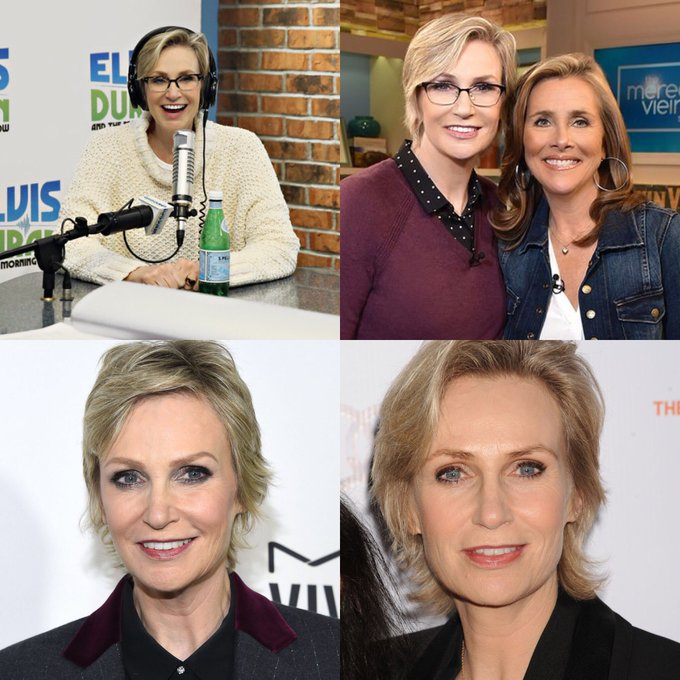 Happy 58 birthday Jane Lynch .hope that she has a wonderful birthday.