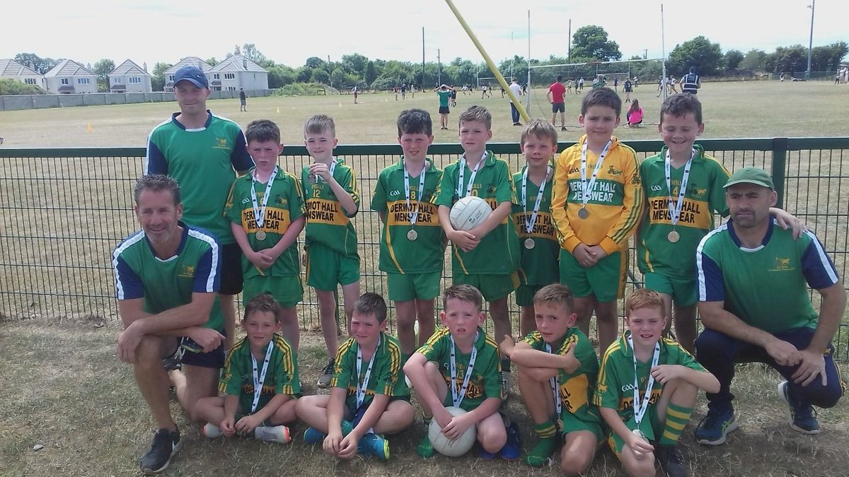 test Twitter Media - Community Games Leinster Football Silver Medalists : 💚💛💪 https://t.co/N91nvkuI6V