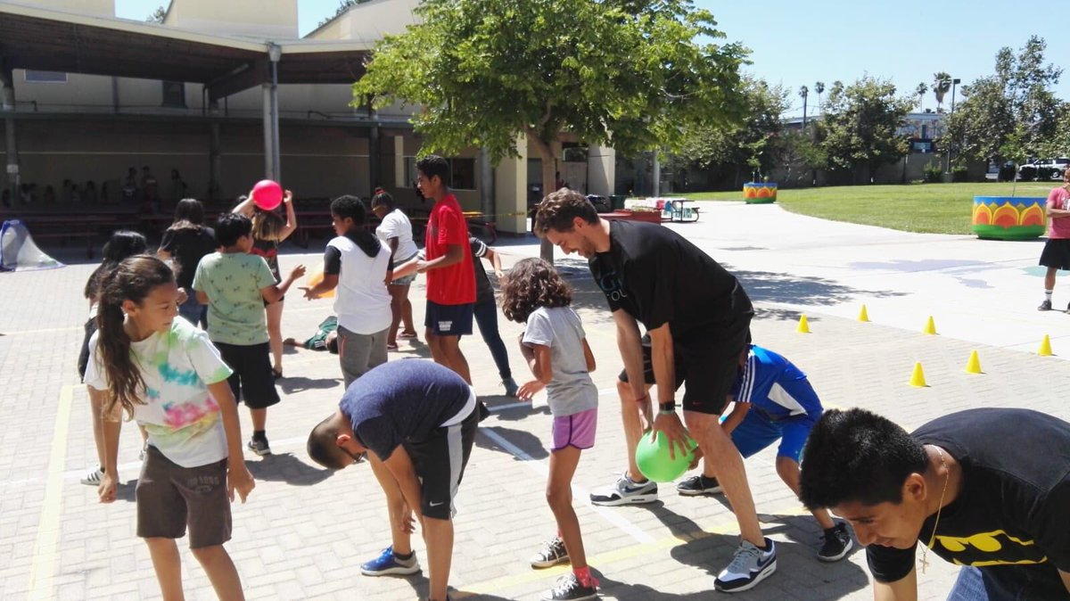 test Twitter Media - Yesterday I attended one of the summer camps of @YMCALA in #LosAngeles! We will launch the healthy #ENERGY project of the @GasolFoundation in this one and in three other centers to promote healthy habits to the younger generations and their families. Make It Healthy, Make It Fun! https://t.co/rkT7uIzqcb