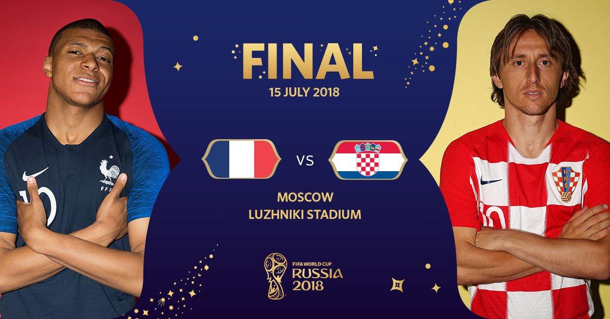 test Twitter Media - RT @FIFAWorldCup: Happy #WorldCupFinal Day! https://t.co/WIb3v9dLSr