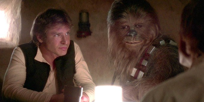 Chewbacca Actor Wishes Star Wars Co-Pilot Harrison Ford a Happy Birthday