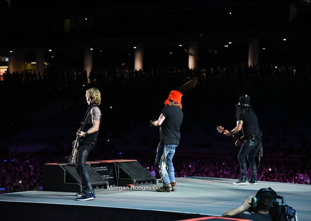 RT @SlashArmy_ARG: [#FOTOS] @Slash, @AxlRose y @DuffMcKagan @ Spartak Stadium, Moscú, Rusia (13/07/2018) 📷: Meegan https://t.co/ntehipGUQg