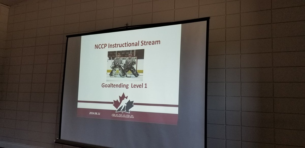 test Twitter Media - The second part to the goaltending weekend in the #CityofPG is underway. 12 coaches from Northern BC and one from the lower mainland are taking the @HockeyCanada Level 1 Goalie clinic. https://t.co/v0biD0TtJk