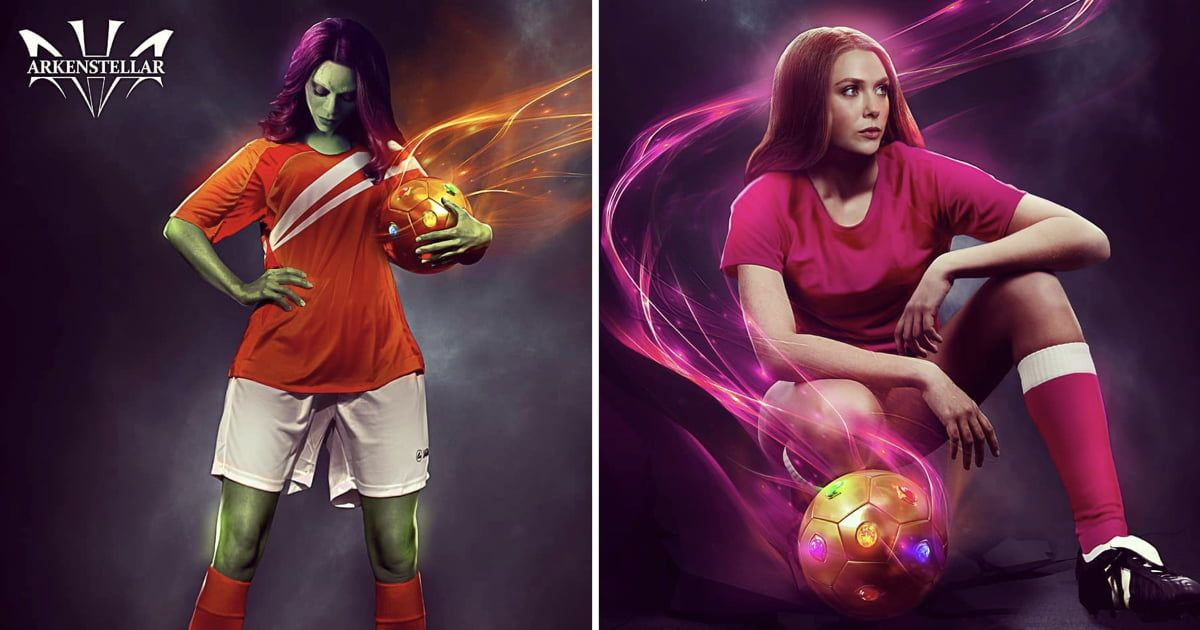 Marvel Heroines Reimagined As Badass World Cup Players  https://t.co/XtXYtRaktK https://t.co/SitoeQWfzc
