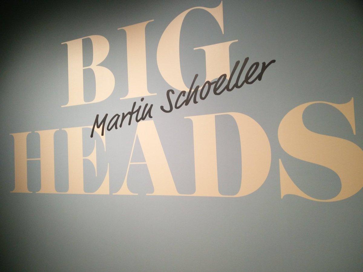 Martin Schoeller in Nederlands fotomuseum! #bigheads #rotterdam