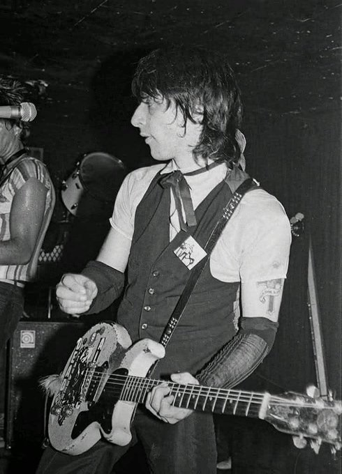 Happy birthday to my absolute rock \n\ roll hero, Mr. Johnny Thunders.