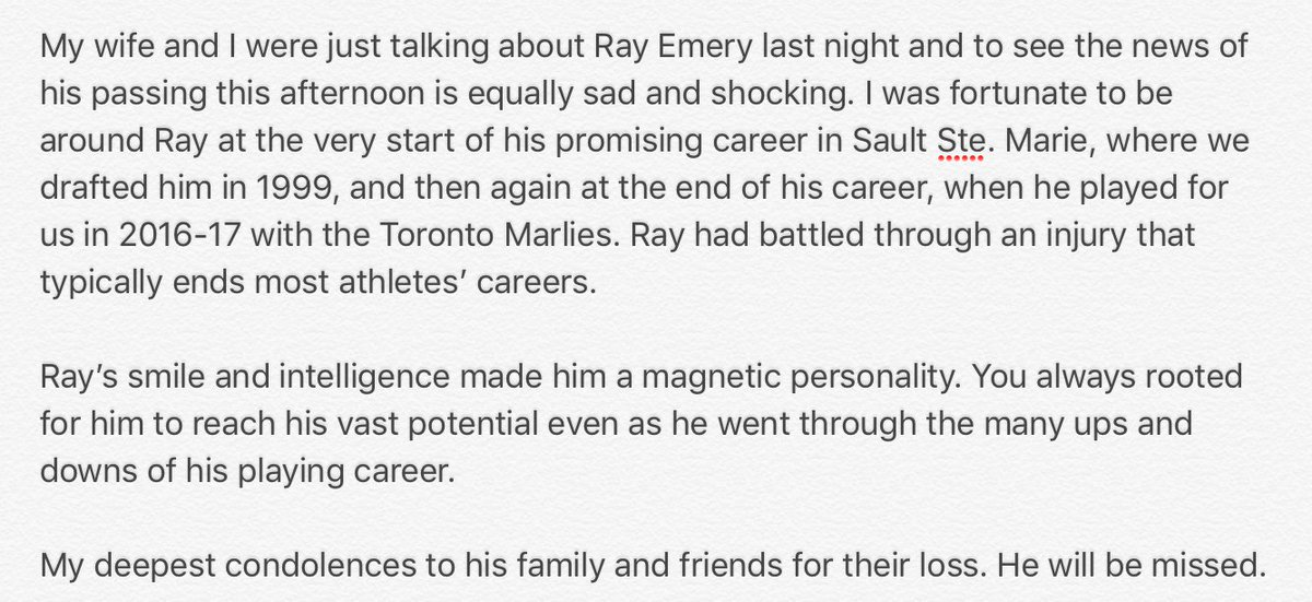 Ray Emery, former NHL goalie,  ray emery