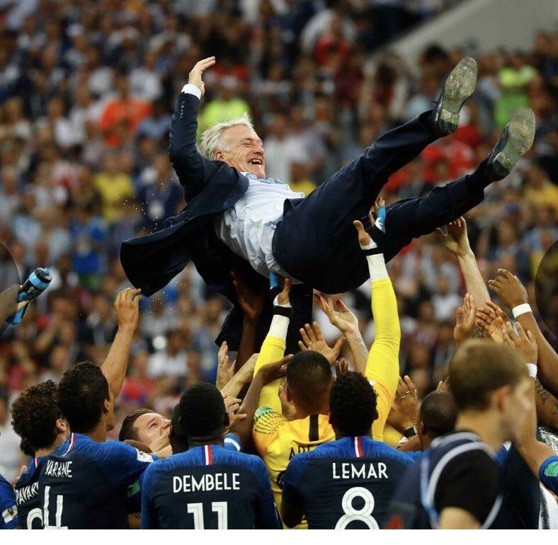 Félicitations France! #WorldCup  Champions #2018. https://t.co/1VrluXM3xn