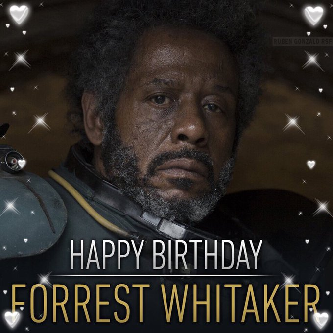 Happy Birthday Forest Whitaker