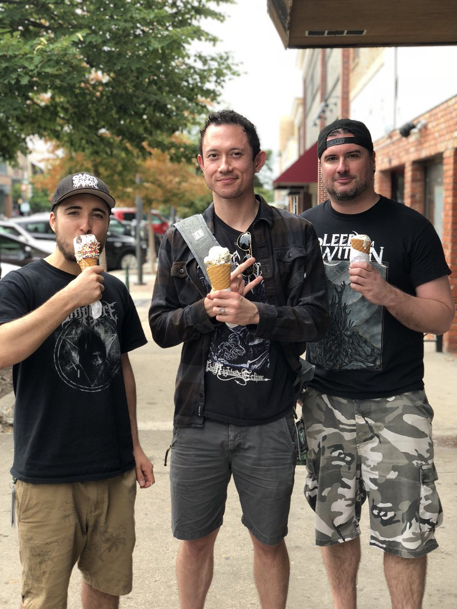 test Twitter Media - Happy #icecreamday ! 🍦 🤘 . . . . . #trivium #mattheafy #matthewkheafy #heafy #kiichi #matt #mkh #kiichichaos #metal #heavymetal #rock #metalhead #music #guitar #thrashmetal #metalcore #metalmusic #band #metalband #Metal https://t.co/PJVHI49f2I