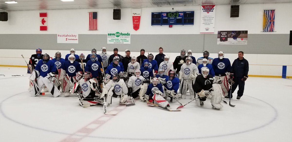 test Twitter Media - That's a wrap from the 1st ever @BCHockey_Source Regional Center-North goalie camp & @HockeyCanada goaltender coaching clinic. Thanks to all players, coaches and parents. Plus a huge thanks to our coaches Brendan Metz, @ty_edmonds35, Lyman Miller and Jeff Stewart. #CityofPG https://t.co/dRfWU6GyNi