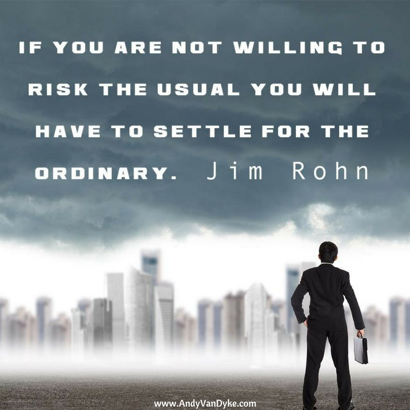 RT @AndyVanDyke: Are you willing to settle for the ordinary? #Motivation https://t.co/tgbgSWNsuo