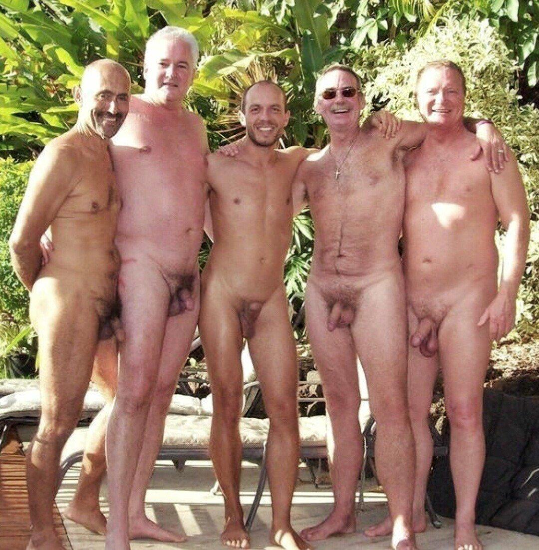 Голые Пожилые Мужики