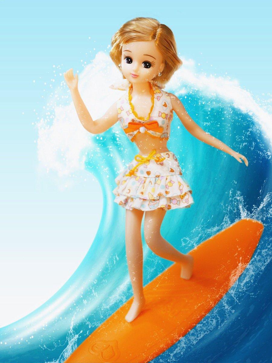 test ツイッターメディア - 青い空、青い海、白い砂浜☆ #海の日 の今日は #サーフィン にチャレンジよ!東京オリンピックの種目に追加されたことでも話題だよね♪ どうかな?リカの波乗り♡ #今日は何の日 https://t.co/OhA9HyJJ5I