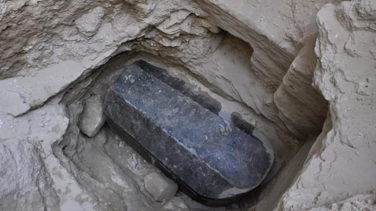 Archaeologists unearth a mysterious sarcophagus in Egypt