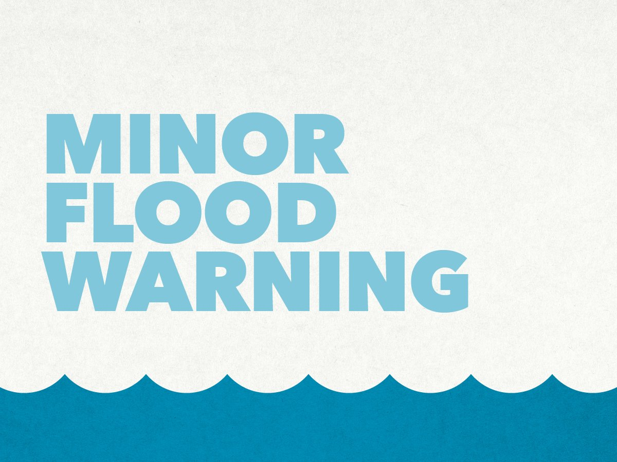 .@BOM_Tas has issued an Initial Minor Flood...