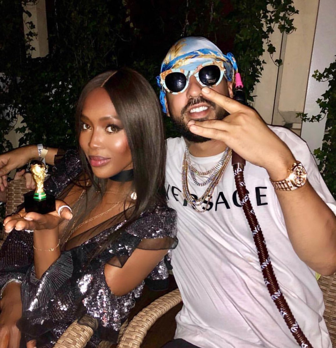 RT @FrencHMonTanA: ME AND THE AFRICAN QUEEN @NaomiCampbell SOME WHERE IN RUSSIA CELEBRATING LIFE ❤️ #worldcup2018 https://t.co/vlHkMf2z0D