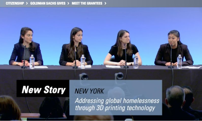 test Twitter Media - Ellen Paik '16, an analyst at @GoldmanSachs, and 3 colleagues placed 2nd in the the Analyst Impact Fund, earning @NewStoryCharity $75,000 to address global homelessness through 3D printing: https://t.co/U1Gd5Iyk3y https://t.co/uXP0TCwD5Z