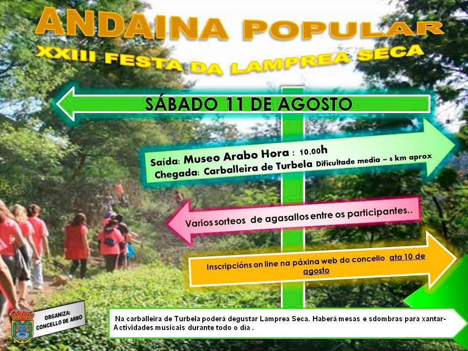 ANDAINA POPULAR DA FESTA DA LAMPREA SECA - https://t.co/lyep9TVIDl https://t.co/fNqdc3cJ1b