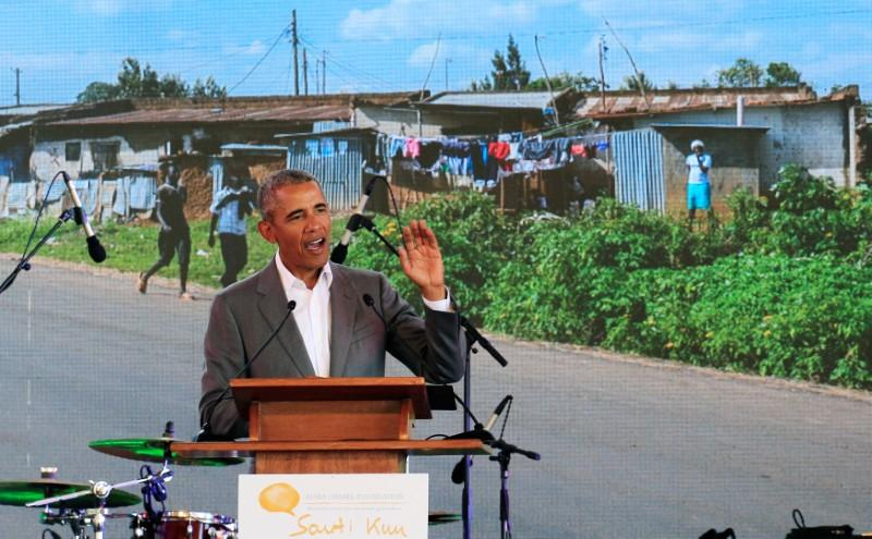 Obama urges Kenyan leaders to soothe ethnic tensions