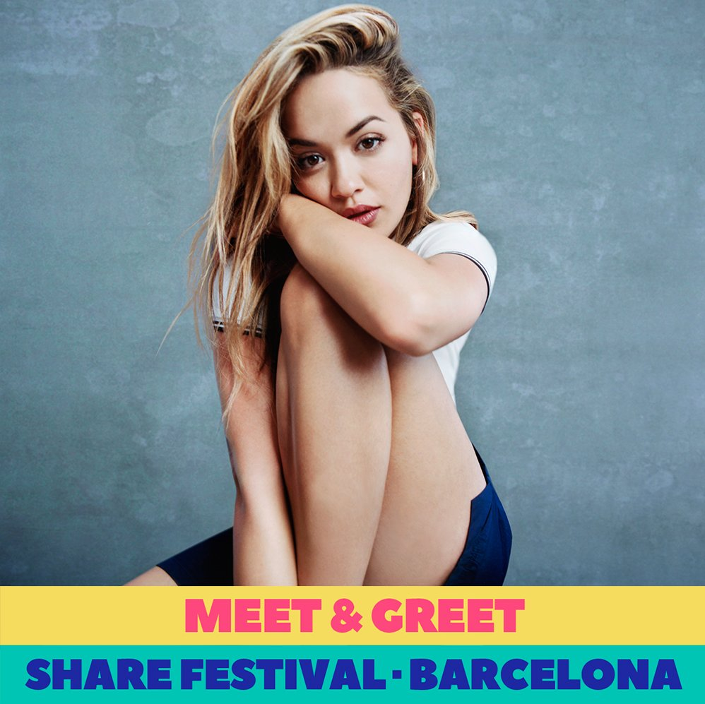 Win a Meet & Greet with me at Share Festival Barcelona!! Learn how at https://t.co/EmLbNKHcyV ♥️ ♥️ See u there! https://t.co/t2UNqI67Gg