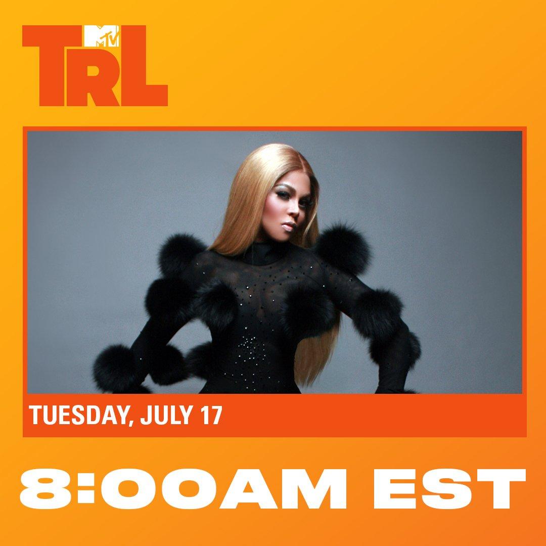 RT @TRL: can you BELIEVE @lilkim is on #TRL @ 8am TOMORROW on @mtv!!! set ya alarms!!! https://t.co/npdkpYgIdZ