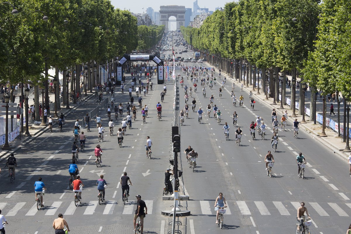 test Twitter Media - RT @c40cities: When will bikes rule the city? 🚴♀️🚴🍃 https://t.co/NccQDro8lN