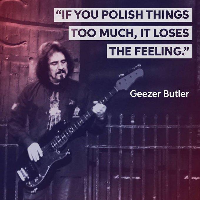 Happy 69th birthday to bassist Geezer Butler!