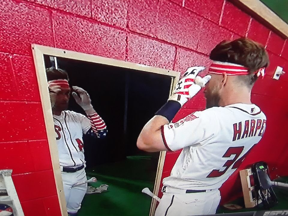 test Twitter Media - Parents and little league coaches - May we teach our children to care about hitting as much as Bryce Harper cares about how he looks in a head band.  #ChopOn https://t.co/XAd0AtmUtU