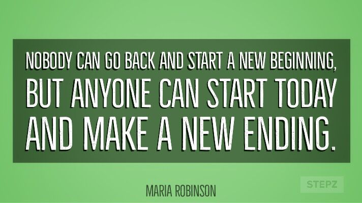 "test Twitter Media - ""Nobody can go back and start a new beginning, but anyone can start today and make a new ending.""  -Maria Robinson #MorningMotivation #TuesdayThoughts #keepgoing https://t.co/GkNVAIhjF6"
