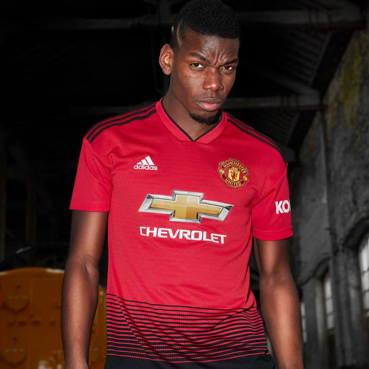 Maillot Domicile Manchester United Paul Pogba