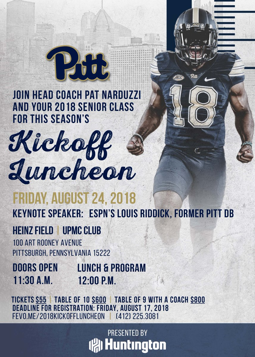 Thrilled To Announce That Former Pitt Football Star And Current Espn