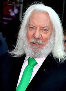 Happy birthday to Donald Sutherland, the original Silver Fox