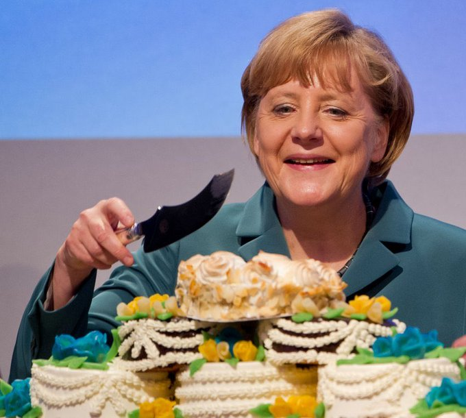 Our very own Angela Merkel is 64. Happy birthday Maama. Enjoy your day!