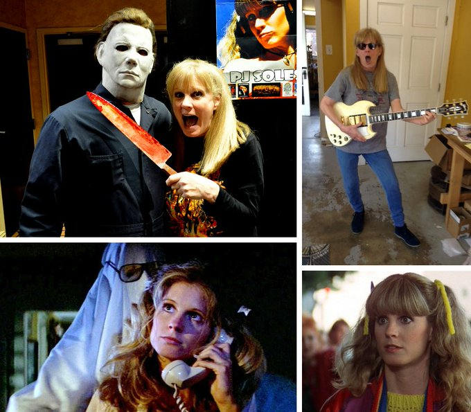 Wishing genre icon PJ Soles a very Happy Birthday today!