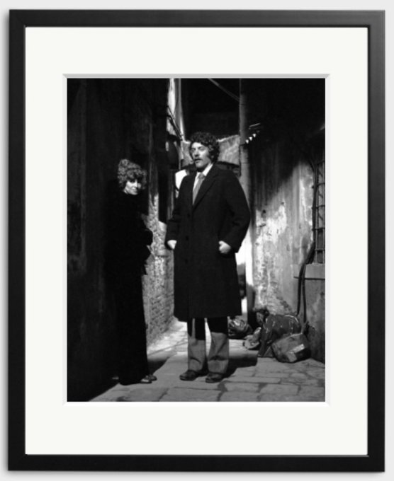 Happy Birthday to Donald Sutherland! Photographed here with Julie Christie in 1971, Venice.