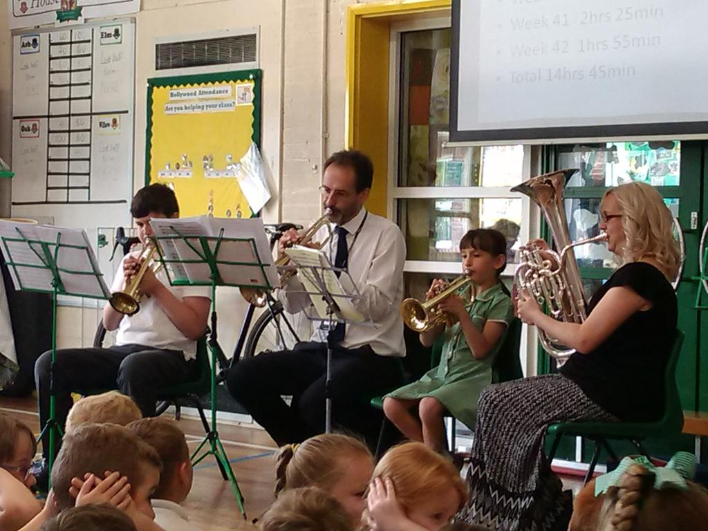 test Twitter Media - Mr Dix and some brass players shared their progress this year in assembly. https://t.co/jryPz5TQgO